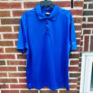 Nike Golf Dri Fit Polo Shirt Royal Blue